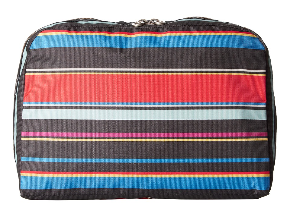 LeSportsac Luggage - XL Essential Cosmetic (Ribbon Stripe) Cosmetic Case