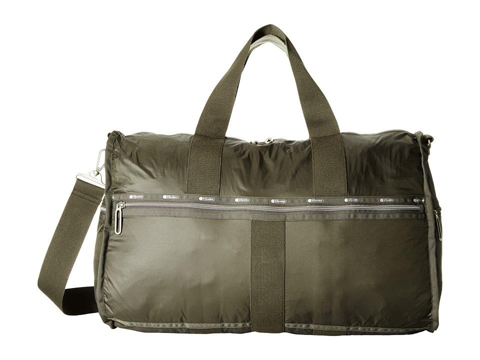 LeSportsac Luggage - Large Weekender (Gravel) Weekender/Overnight Luggage