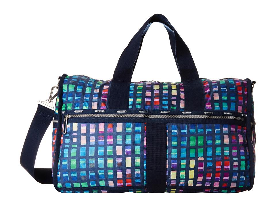 LeSportsac Luggage - Large Weekender (Color Blocks) Weekender/Overnight Luggage