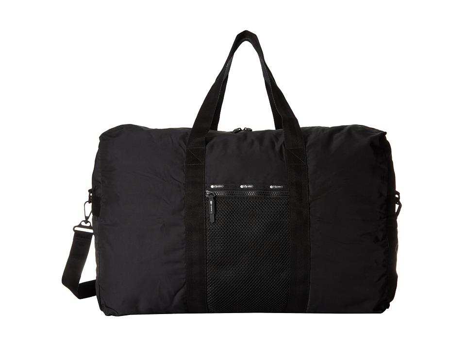 LeSportsac Luggage - Large Global Weekender (True Black) Weekender/Overnight Luggage