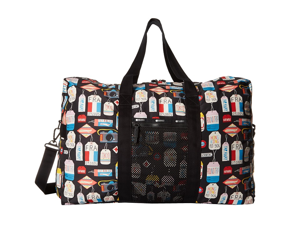 LeSportsac Luggage - Large Global Weekender (Boarding Pass) Weekender/Overnight Luggage