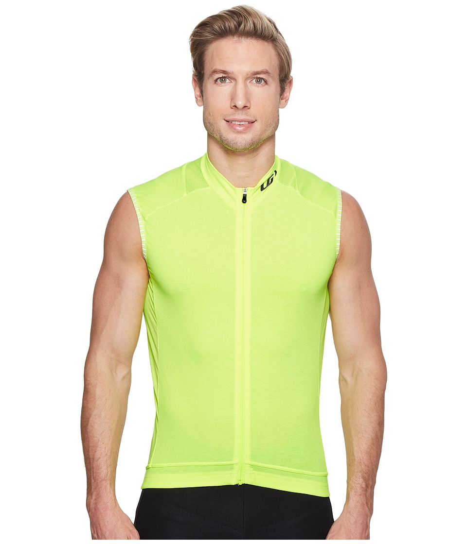 Louis Garneau - Lemmon 2 Sleeveless Jersey (Bright Yellow) Mens Sleeveless
