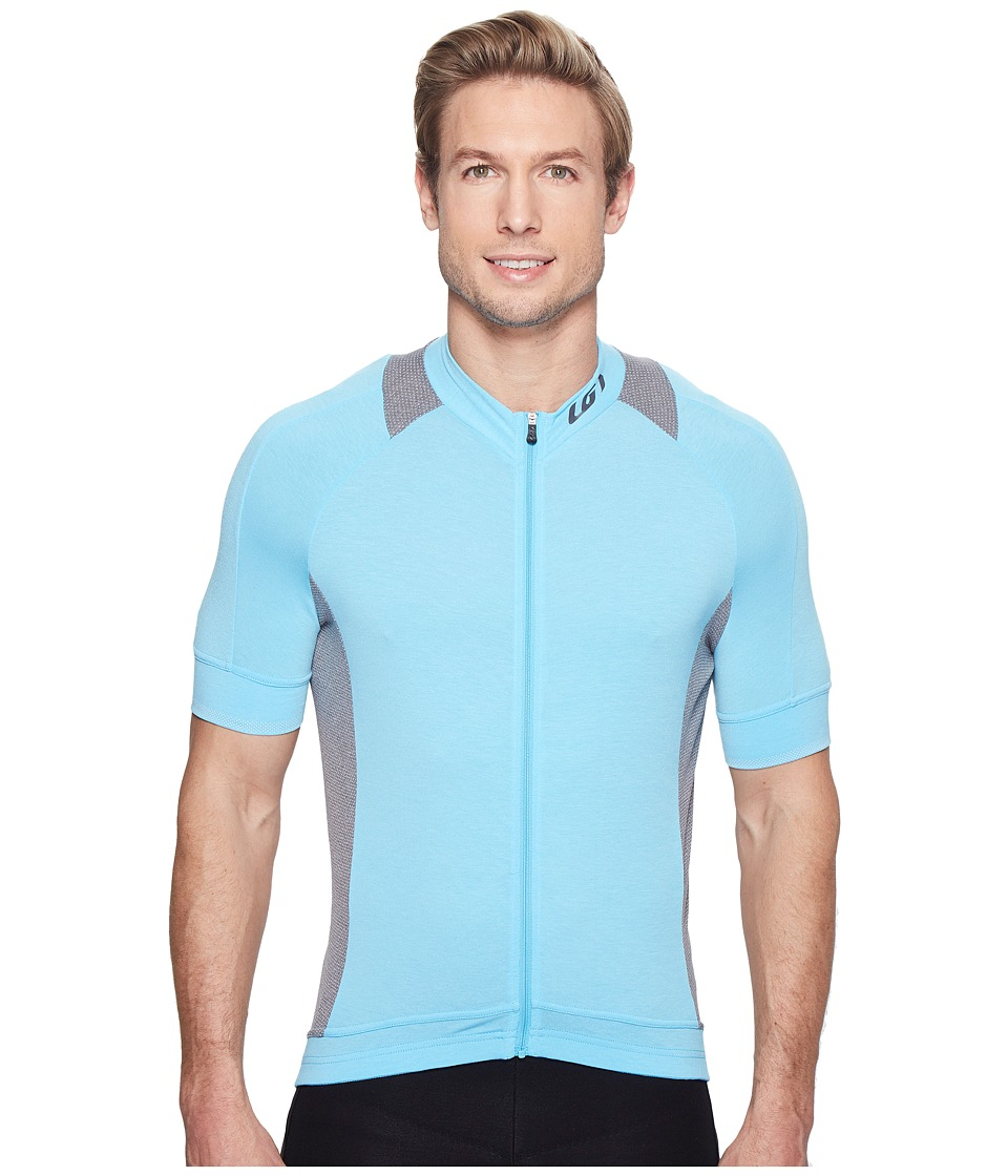 Louis Garneau - Lemmon 2 Jersey (Heaven Blue/Asphalt) Mens Clothing
