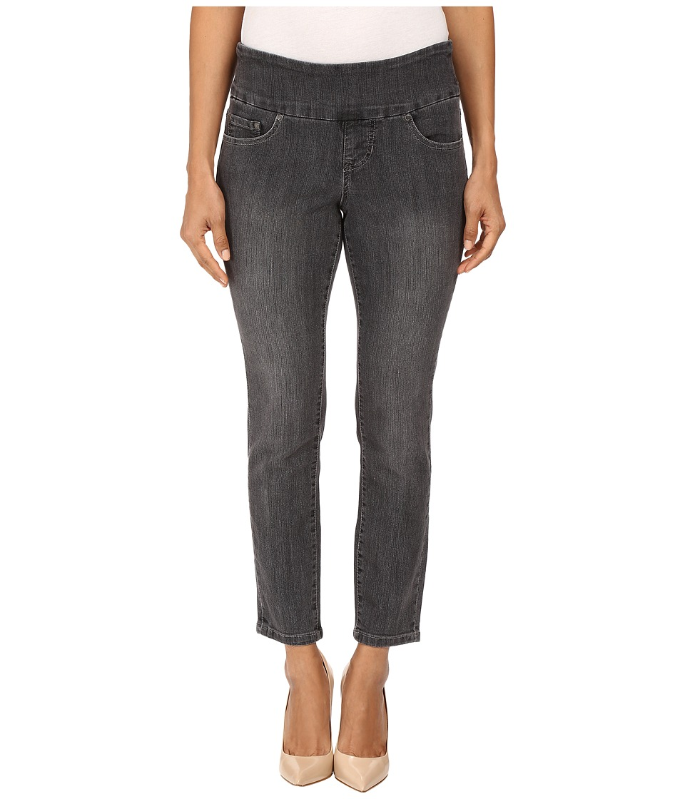 Jag Jeans Petite Petite Amelia Pull-On Ankle in Comfort Denim in Thunder Grey/Destroy (Thunder Grey/Destroy) Women