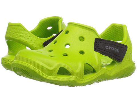 Crocs Kids Swiftwater Wave (Toddler/Little Kid) - Volt Green