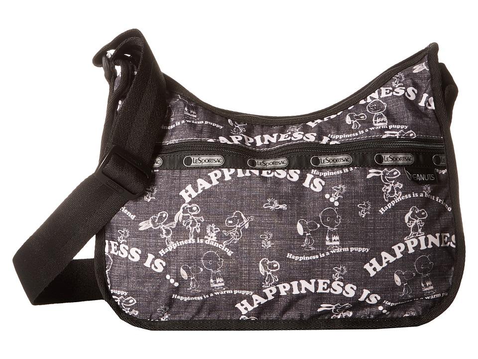 LeSportsac - Classic Hobo Bag (Happiness All Over) Cross Body Handbags