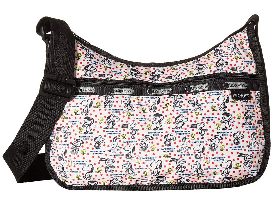 LeSportsac - Classic Hobo Bag (Happiness Dots) Cross Body Handbags