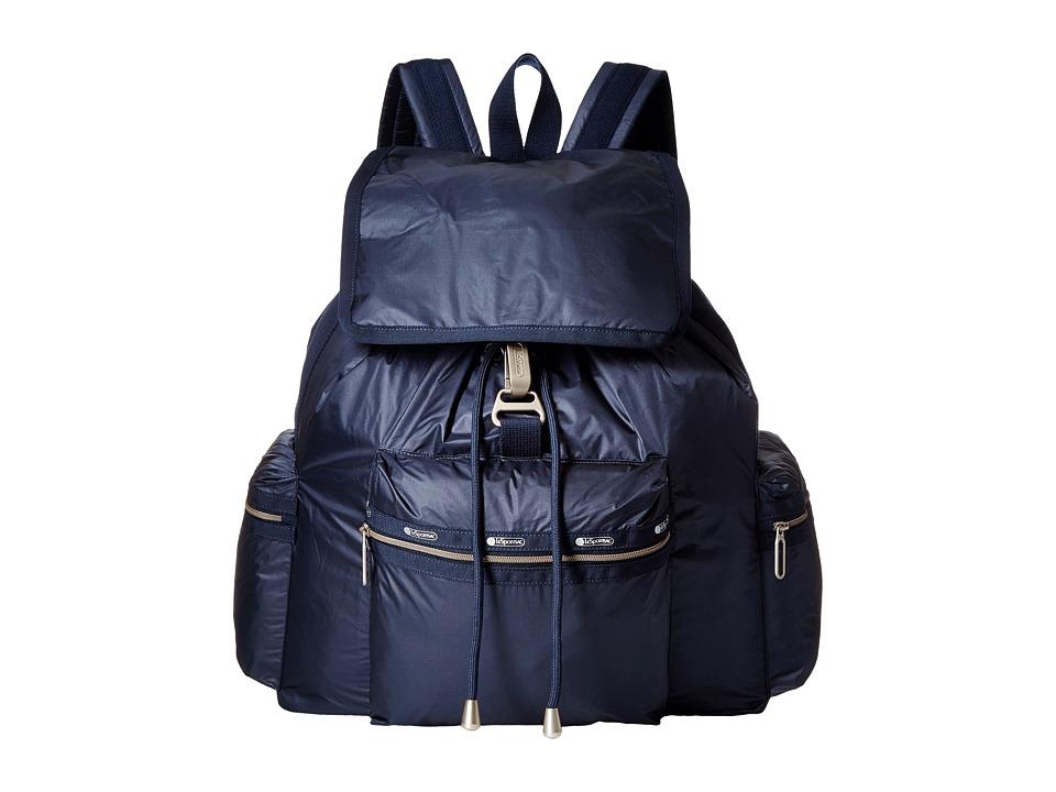 LeSportsac - 3-Zip Voyager (Classic Navy) Handbags