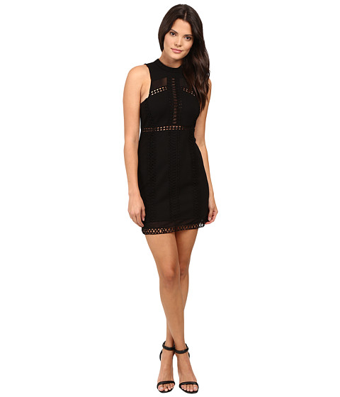 Free People Sky Scraper Mini Dress - Black