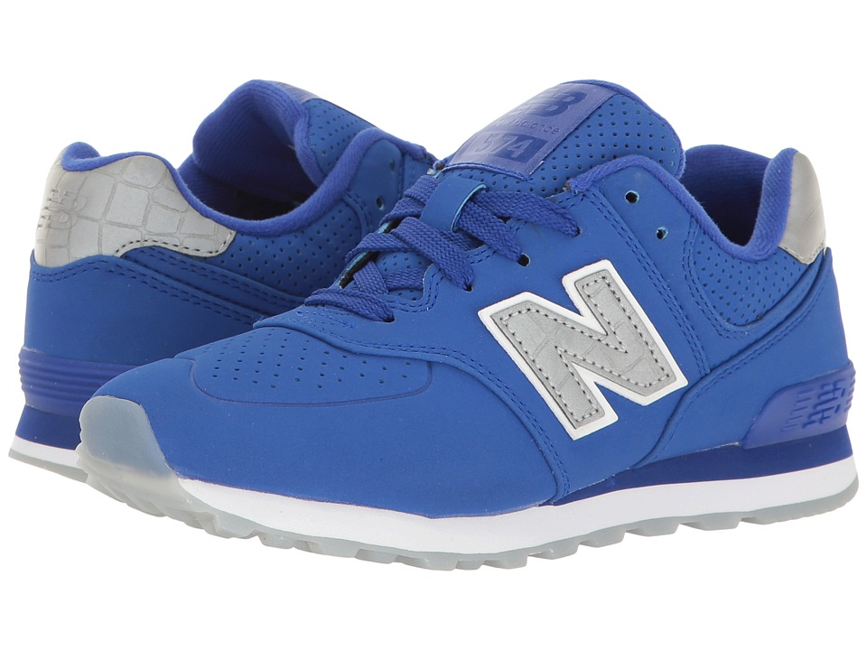 New Balance Kids KL574v1 (Little Kid) (Blue/Blue) Boys Shoes