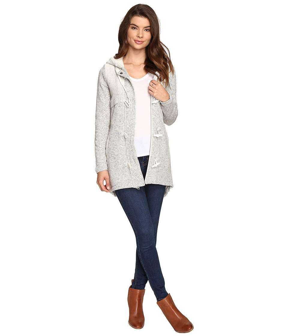 Rip Curl Penny Longline Fleece Jacket (Natural) Women