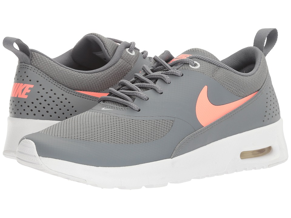 Nike Kids Air Max Thea (Big Kid) (Cool Grey/Lava Glow/Pure Platinum/White) Girls Shoes