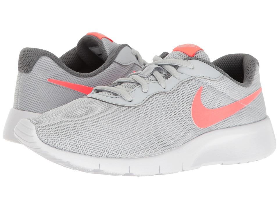 Nike Kids - Tanjun (Big Kid) (Pure Platinum/Lava Glow/Cool Grey/White) Girls Shoes