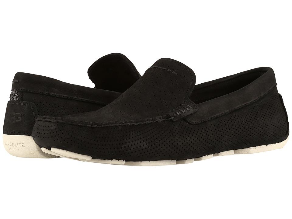 Ugg Henrick Stripe Perf (Black) Men's Shoes