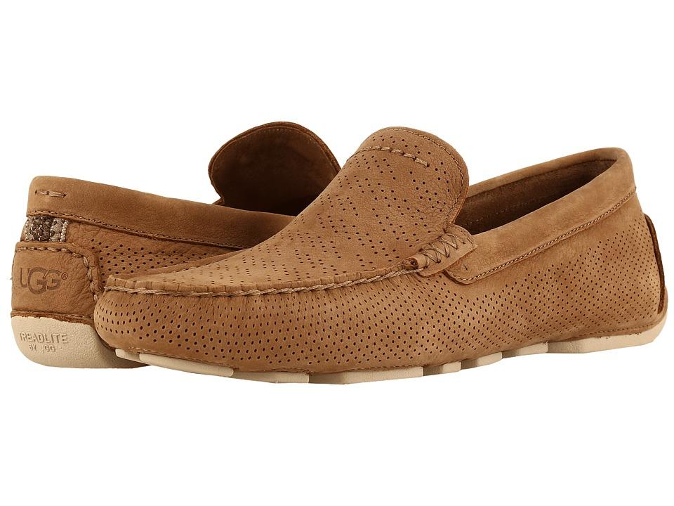 Ugg Henrick Stripe Perf (Tamarind) Men's Shoes