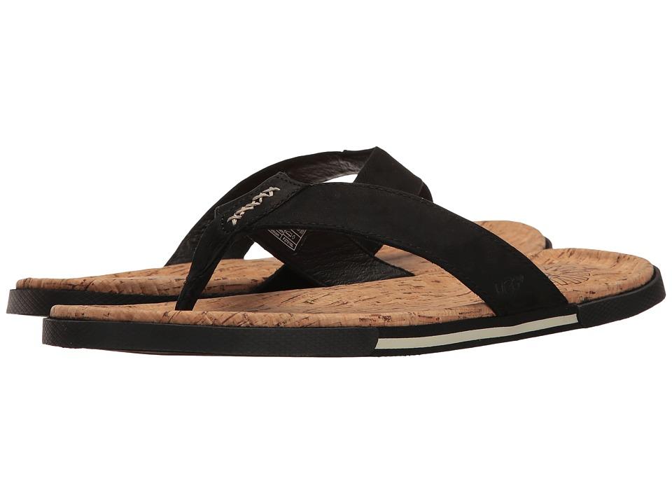 UGG - Braven (Black) Men's Sandals
