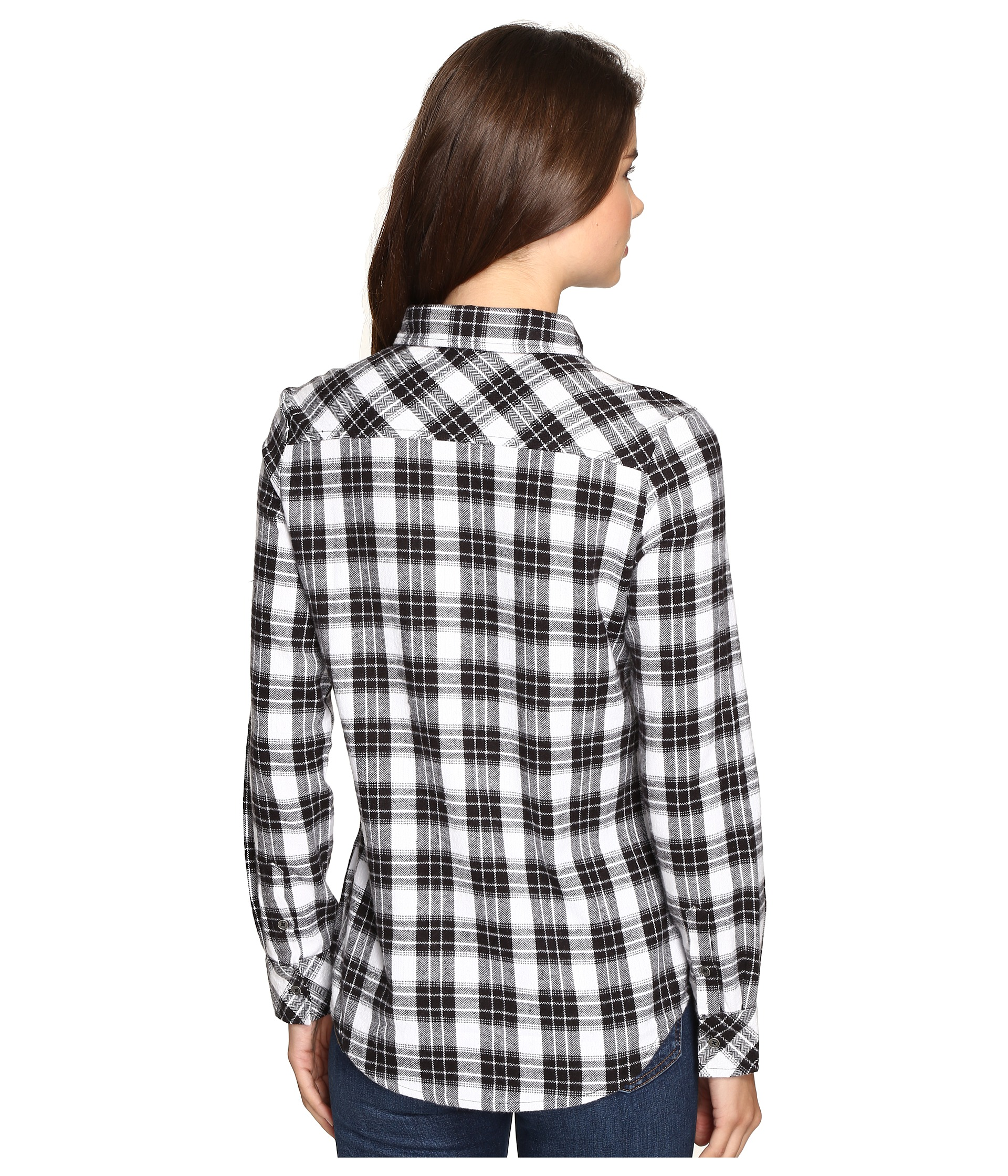 Rip curl nightwatch flannel shirt free for Athletic cut flannel shirts