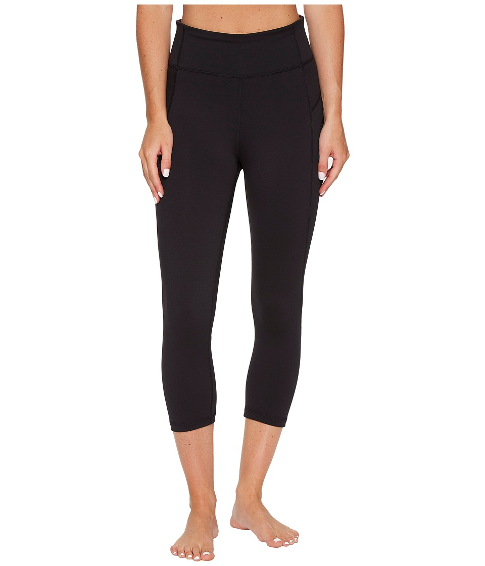 adidas Performer High-Rise 3/4 Tights (Black/Black) Women