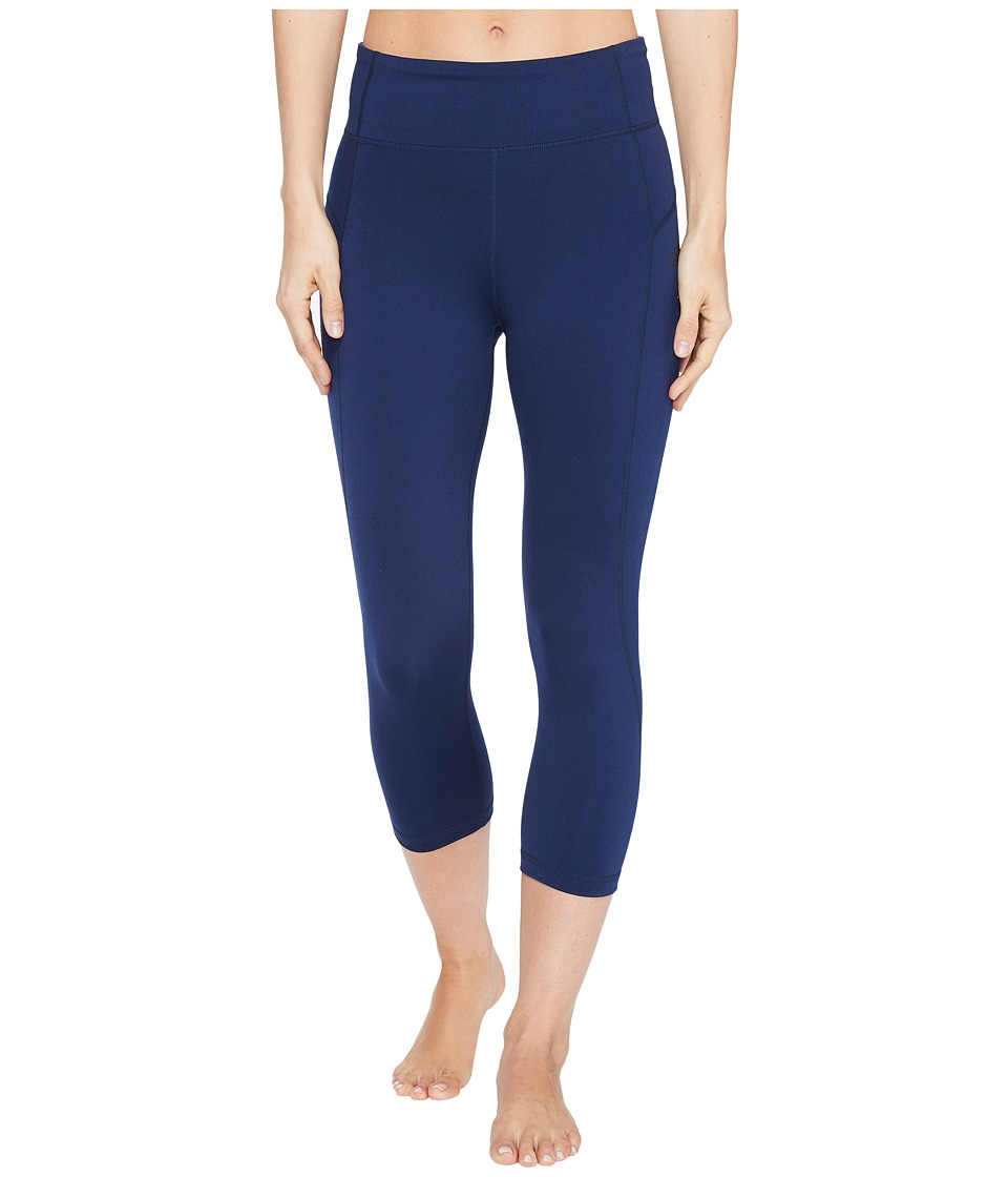 adidas Performer High-Rise 3/4 Tights (Collegiate Navy/Black) Women
