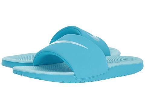 Nike Kids Kawa Slide (Little Kid/Big Kid) - Chlorine Blue/Still Blue