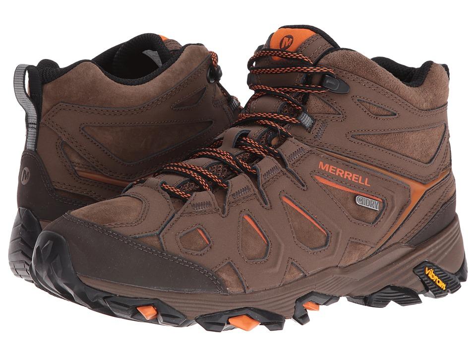 Merrell Moab FST Leather Mid Waterproof (Dark Earth) Men