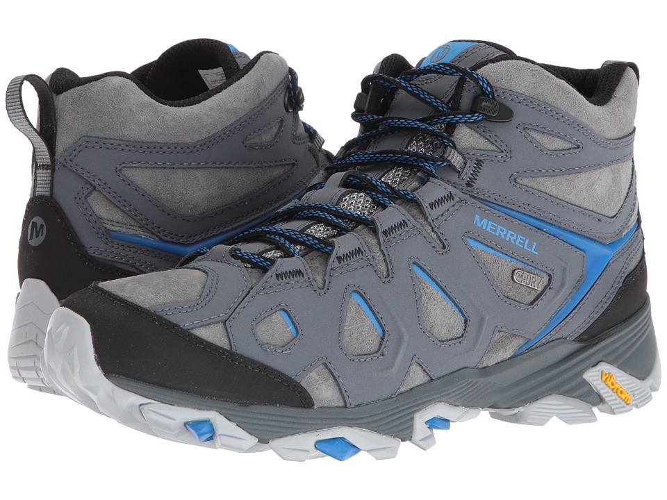 Merrell Moab FST Leather Mid Waterproof (Turbulence) Men