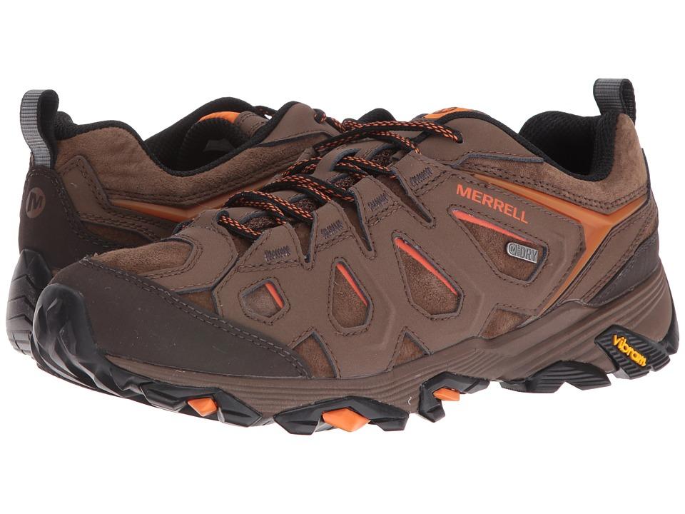Merrell Moab FST Leather Waterproof (Dark Earth) Men