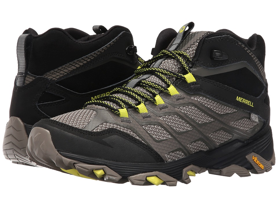 Merrell Moab FST Mid Waterproof (Olive Black) Men