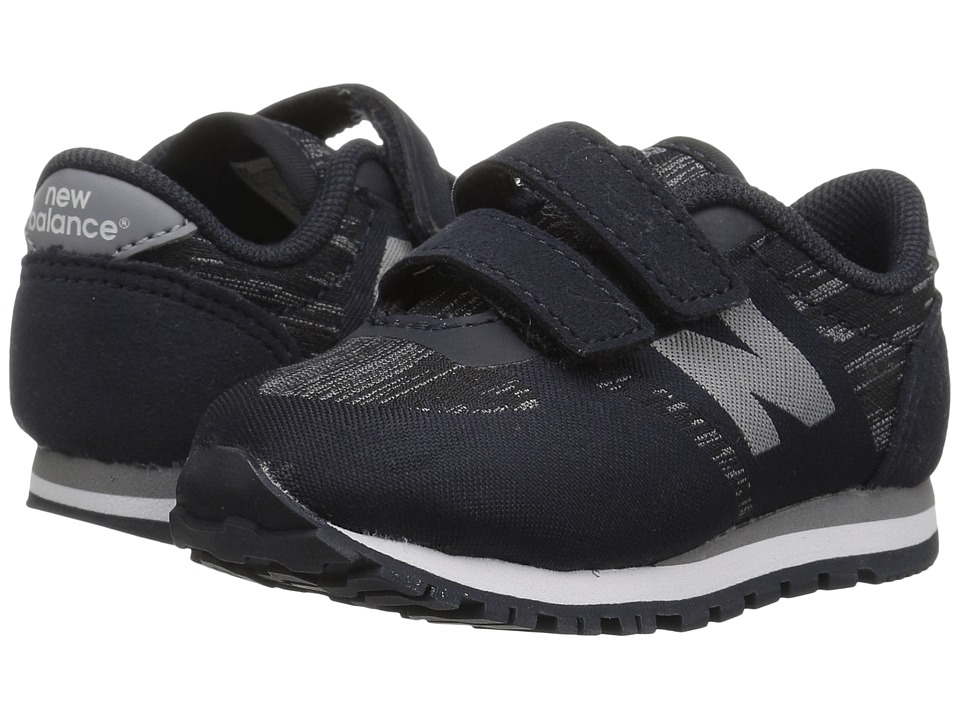 New Balance Kids KA420v1 (Infant/Toddler) (Black/Grey) Boys Shoes
