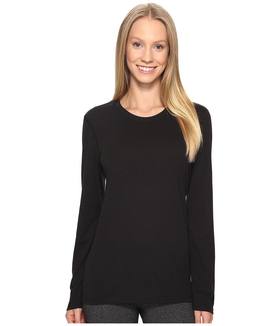 adidas Ultimate Long Sleeve Tee (Black/Black) Women