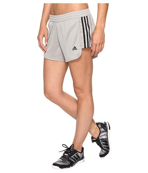 adidas 3-Stripes Knit Shorts - Medium Grey Heather Solid Grey/Black