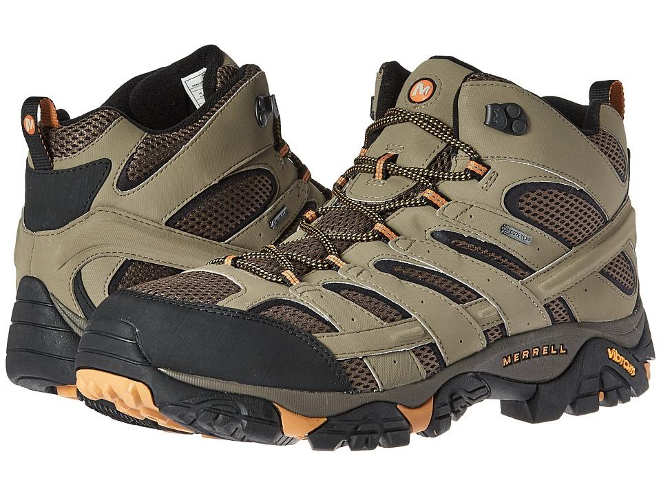 Merrell - Moab 2 Mid GTX (Walnut) Mens Shoes
