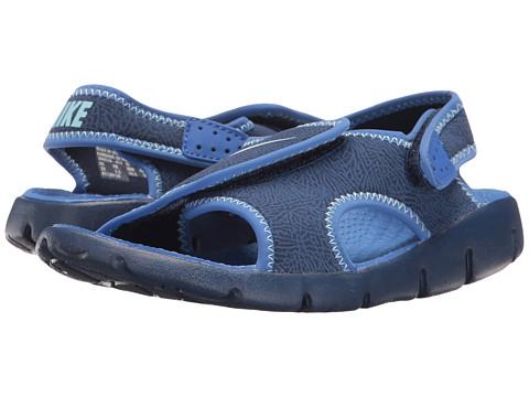 Nike Kids Sunray Adjust 4 (Little Kid/Big Kid) - Binary Blue/Still Blue/Comet Blue