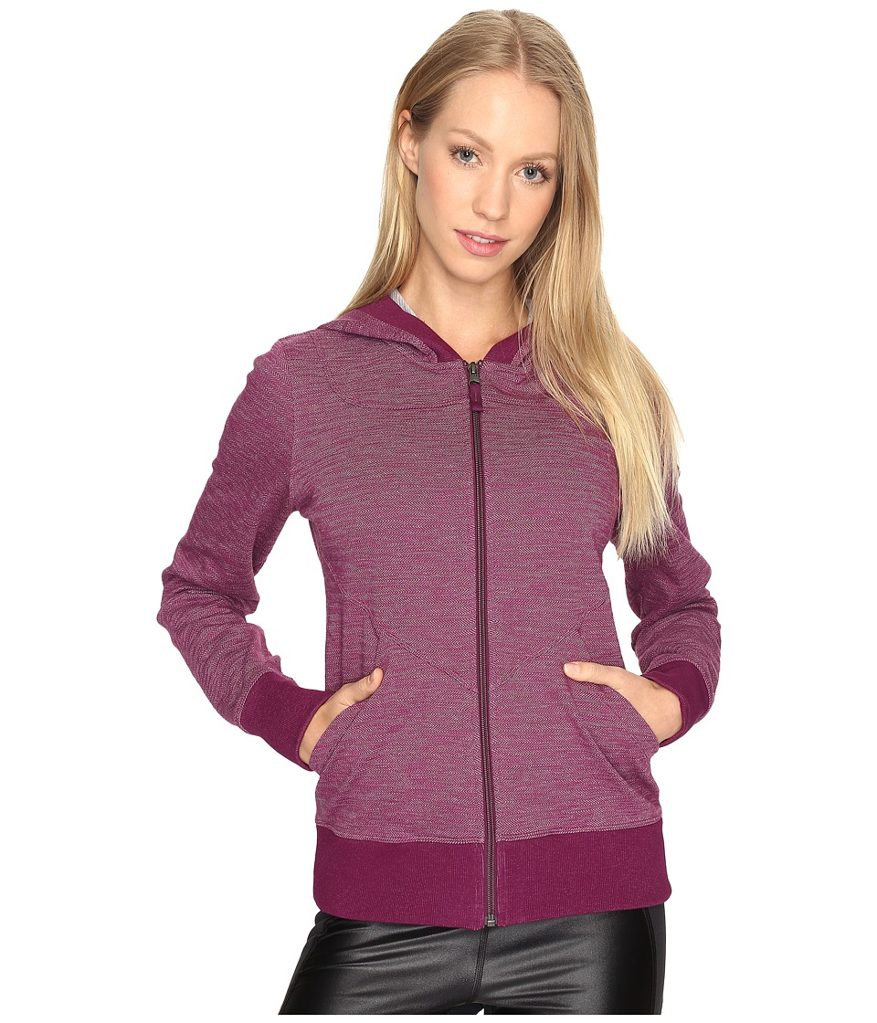 Lole India Hooded Cardigan (Plum Caspia) Women
