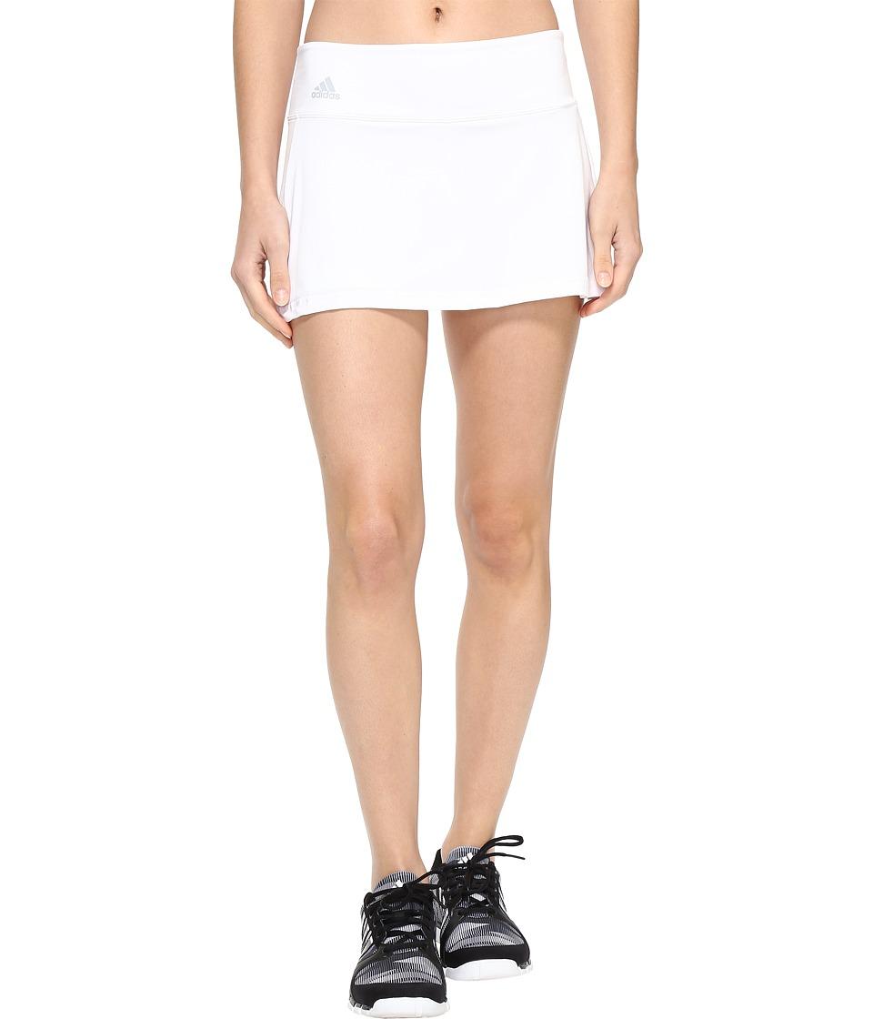 adidas Essex Skort (White/Clear Onix) Women