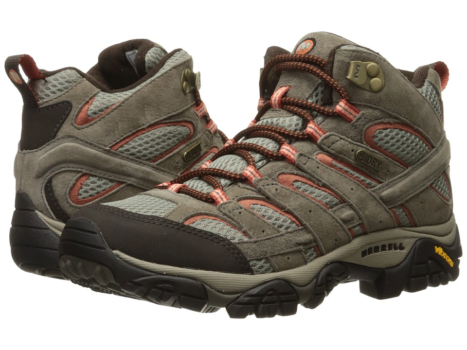Merrell Moab 2 Mid Waterproof (Bungee Cord) Women's Shoes