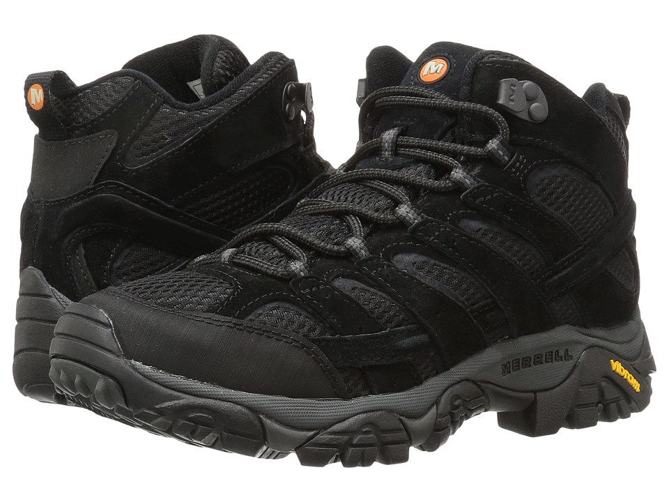 Merrell Moab 2 Vent Mid (Black Night) Men
