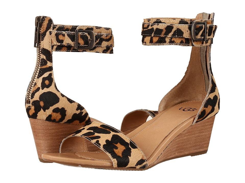 UGG Char Leopard (Chestnut Leopard) Women