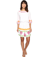 Tommy Bahama - Embroidered Gauze Short Dress