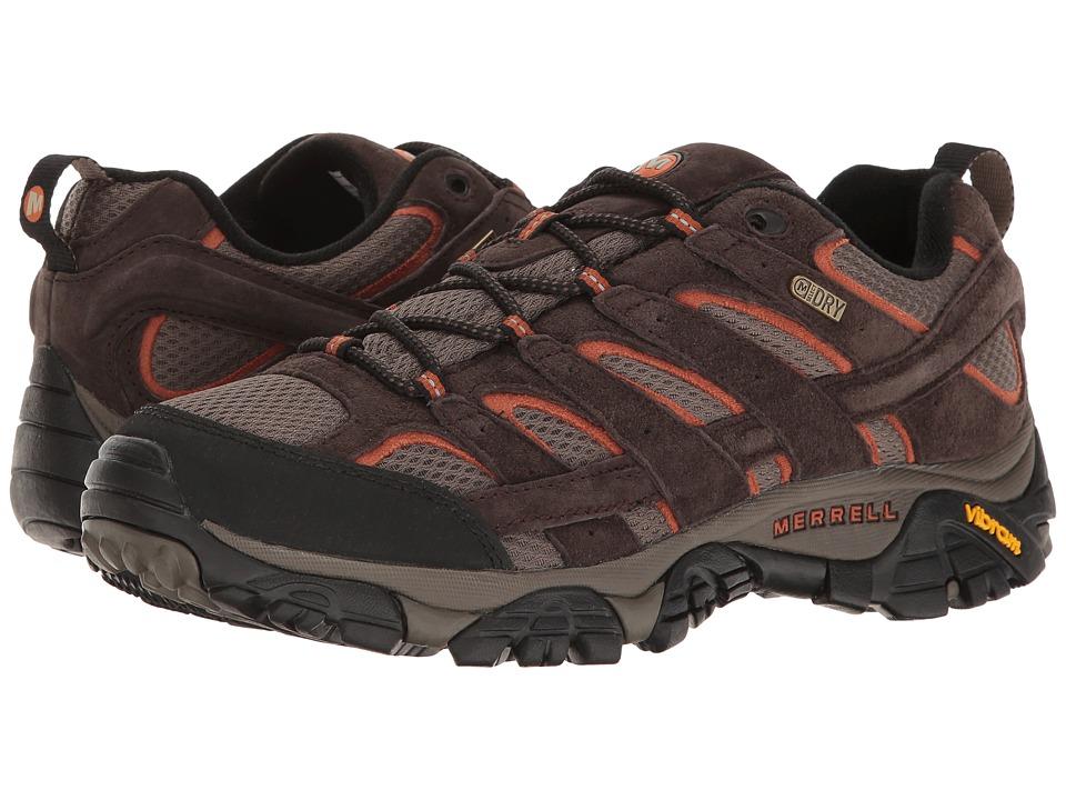 Merrell Moab 2 Waterproof (Espresso) Men's Shoes