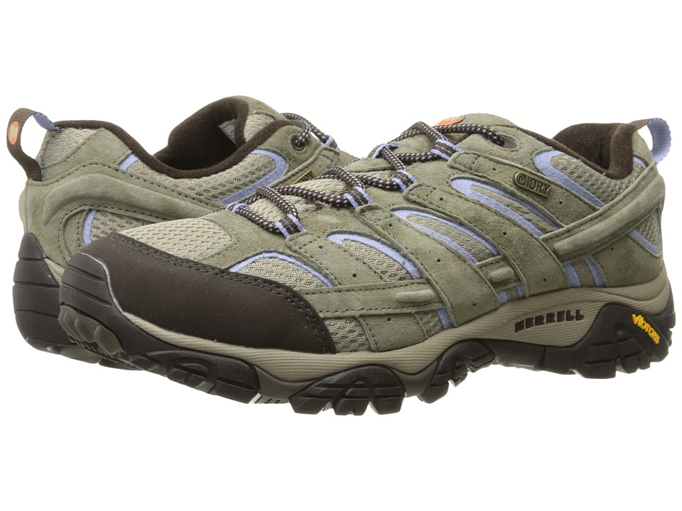 Merrell Moab 2 Waterproof (Dusty Olive) Women's Shoes