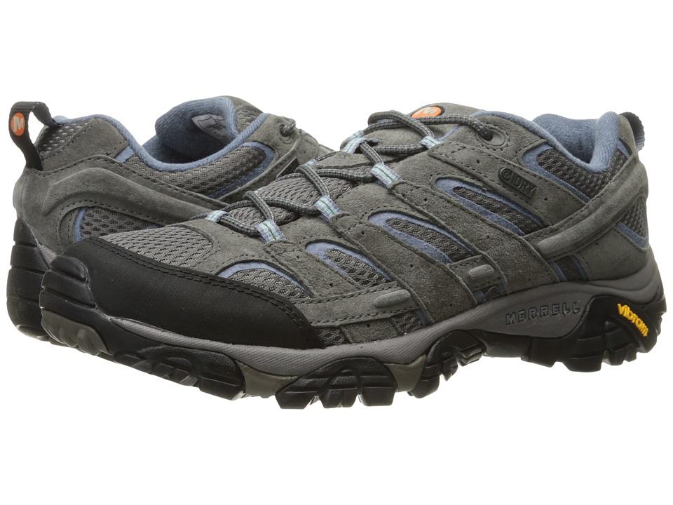 MerrellMoab 2 Waterproof  (Granite) Womens Shoes