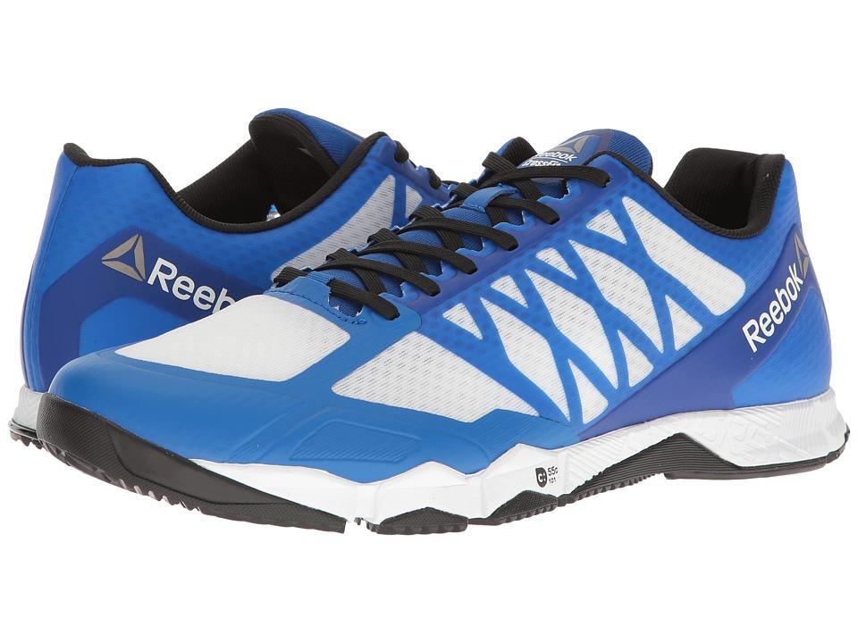 Reebok Crossfit Speed TR (White/Black/Awesome Blue/Pewter) Men