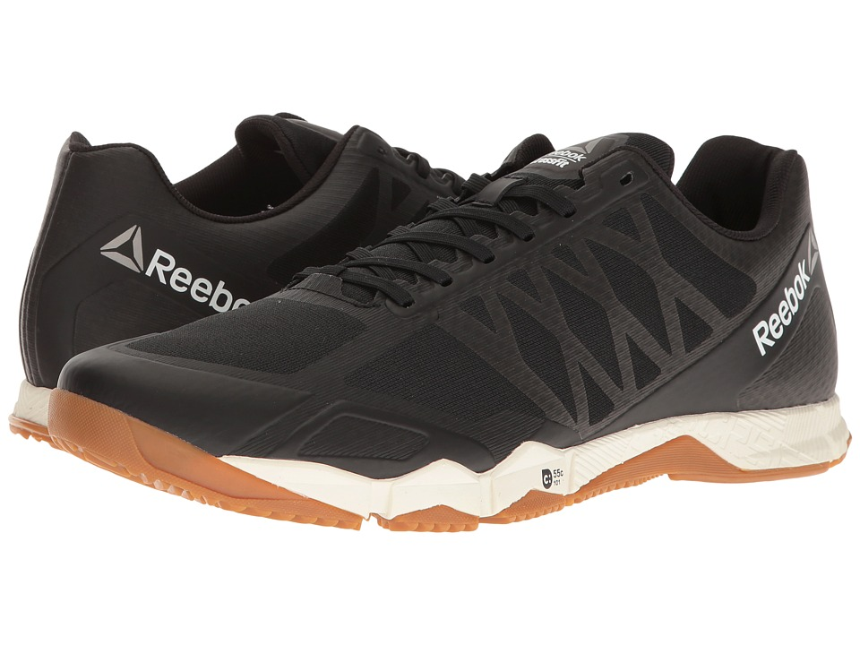Reebok Crossfit(r) Speed TR (Black/Ash Grey/Classic White/Rubber Gum/Pewter) Men