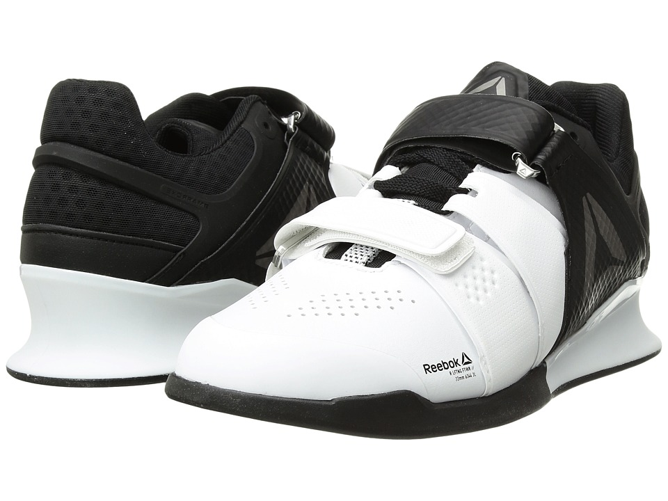 Reebok Legacy Lifter (White/Black/Pewter) Men's Shoes