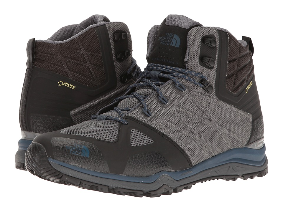 The North Face Ultra Fastpack II Mid GTX(r) (Zinc Grey/Shady Blue) Men