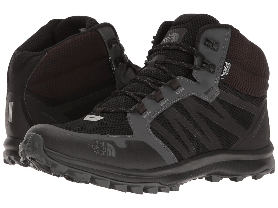 The North Face Litewave Fastpack Mid WP (TNF Black/Dark Shadow Grey) Men