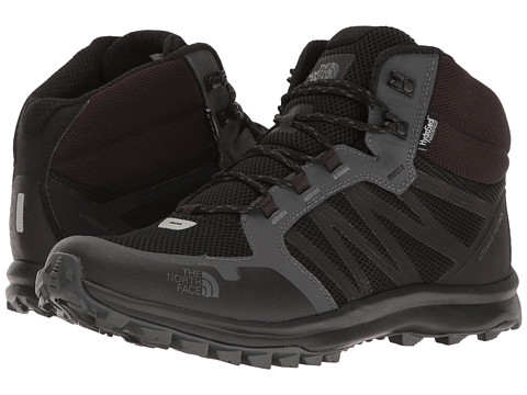 The North Face Litewave Fastpack Mid WP - TNF Black/Dark Shadow Grey