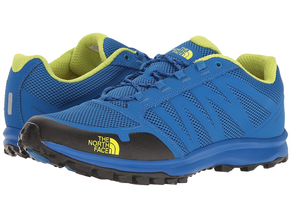 The North Face Litewave Fastpack (Blue Quartz/Lantern Green) Men