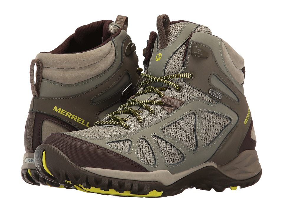 Merrell Siren Sport Q2 Mid Waterproof (Dusty Olive) Women's Shoes